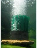 Association unique de l'apport d'oxygène et de la circulation d'eau