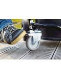 Chariot confortable avec 4 roues caoutchoutées