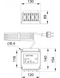 Dimensions transformateur UST 150