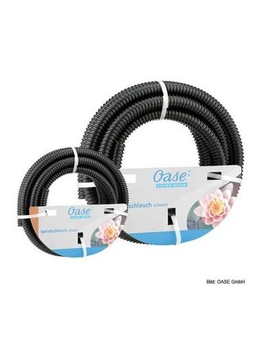 """Tuyau spiralé noir PVC prédécoupé 1 """" 1/2 -5 m Oase"""