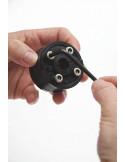 Début passage cable électrique