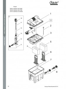 Biosmart Set 7000 Oase (pièces détachées)