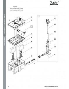 Biosmart set 14000 Oase (pièces détachées)