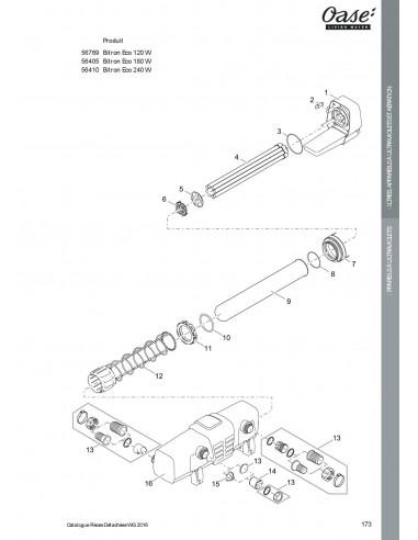 8c178a39108b3a Bitron Eco 120 W Oase (pièces détachées)