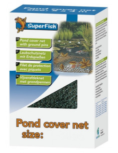 Filet 4x4 m + 10 piquets Superfish