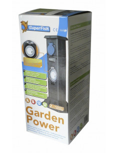 Garden Power ralonge 3 prises avec timer Superfish