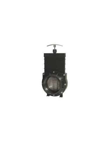 Vanne à guillotine FF à coller 75 mm Aquatic Science