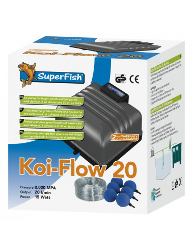 Koi Flow 20 Prof Kit à air Superfish