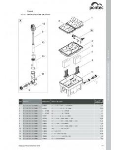Multiclear Set 15000 Pontec (pièces détachées)
