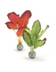 Biorb petit set plantes soyeuses vertes et rougesOase