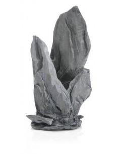 Biorb moyen décor gris rochers Oase