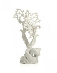 Biorb corail marin décor moyen blanc Oase