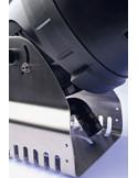 Pied en acier inox avec réglage individuel de l'angle du jet