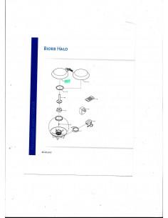Biorb capot de rechange Halo 60 blanc Oase - Réf. pièce 1