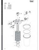 Filtoclear 20000 Oase (pièces détachées-vue d'enesemble)