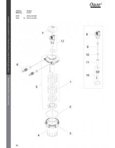 Biopress Set 4000 Oase (pièces détachées)