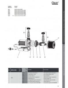 Aquarius Universal 3000 Oase (pièces détachées)