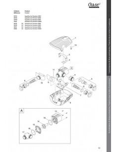 Aquamax Eco Premium 10000 Oase (pièces détachées)