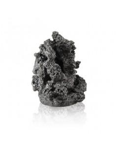 Ornement pierre minérale noire biOrb
