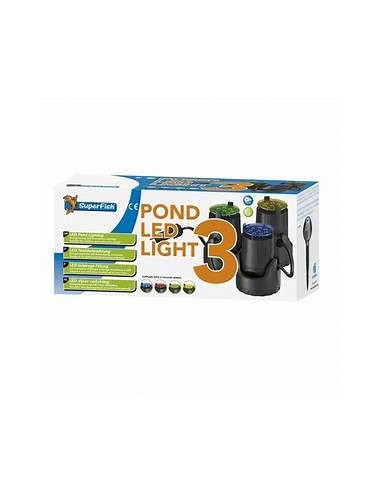 Eclairage led de bassin superfish for Bassin de jardin jardiland