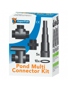 Multi connecteurs Kit 20/25/32/40mm Superfish