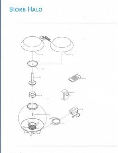 Télécommande de rechange Halo 15 led Oase - Pièce n°4