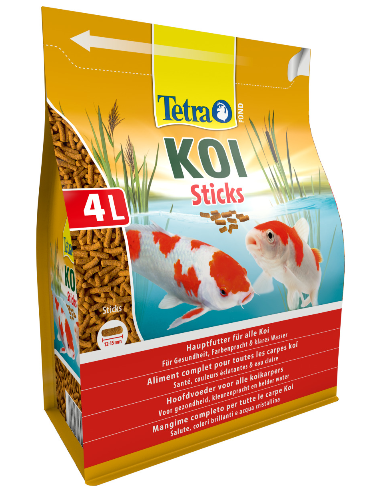 Tetra pond koi sticks 4 l for Koi pond sticks