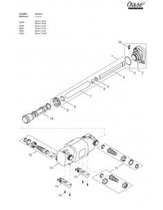 Bitron C 110 W Oase (pièces détachées)
