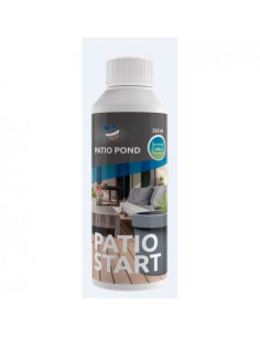 PATIO POND BACTO START