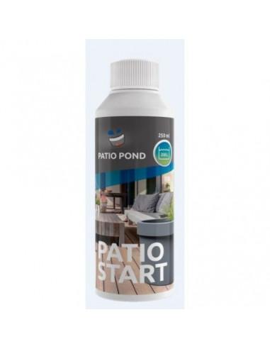 PATIO POND BACTO START