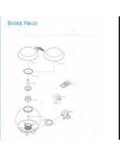 Biorb capot de rechange Halo 15 blanc Oase - Réf. pièce 1