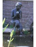 Mise en situation pompe statue décorative